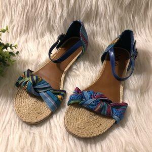 """MIA Sz 8.5 """"Priscilla"""" Multi-Color Sandals"""